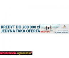 kredyt 200 tys z RRSO 9,3%, spłać wszystkie zobowiązania